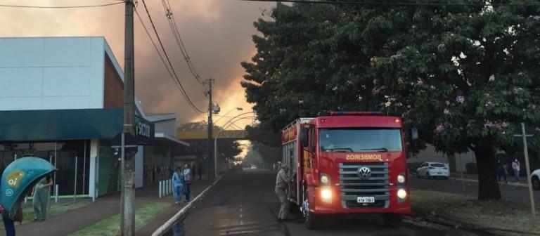 Incêndio em shopping começou por problemas na rede elétrica