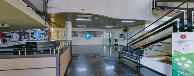 Câmara Municipal instala 'tour 360º' no site oficial