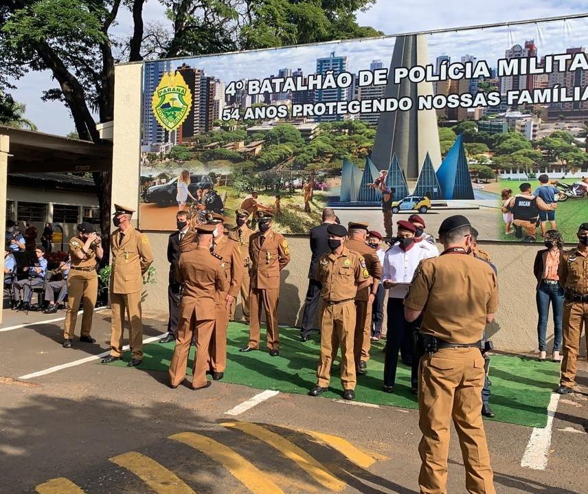 Polícia Militar do Paraná comemora 167 anos nesta terça-feira, 10 de agosto