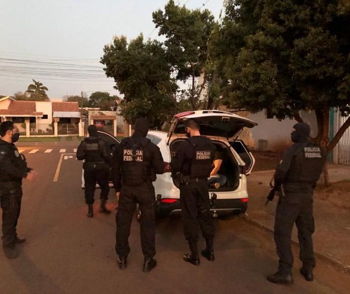 Operação Caixa Forte 2, da Polícia Federal, tem alvos em Maringá