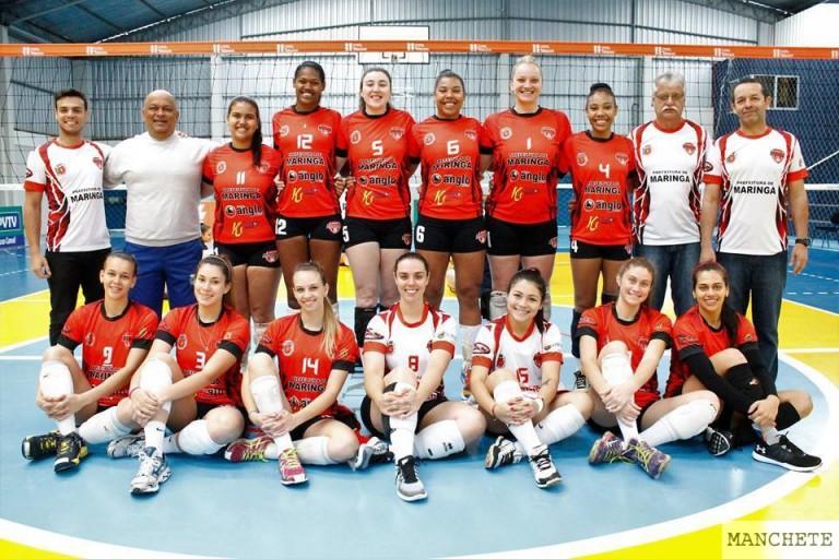 Time maringaense de vôlei feminino é campeão paranaense