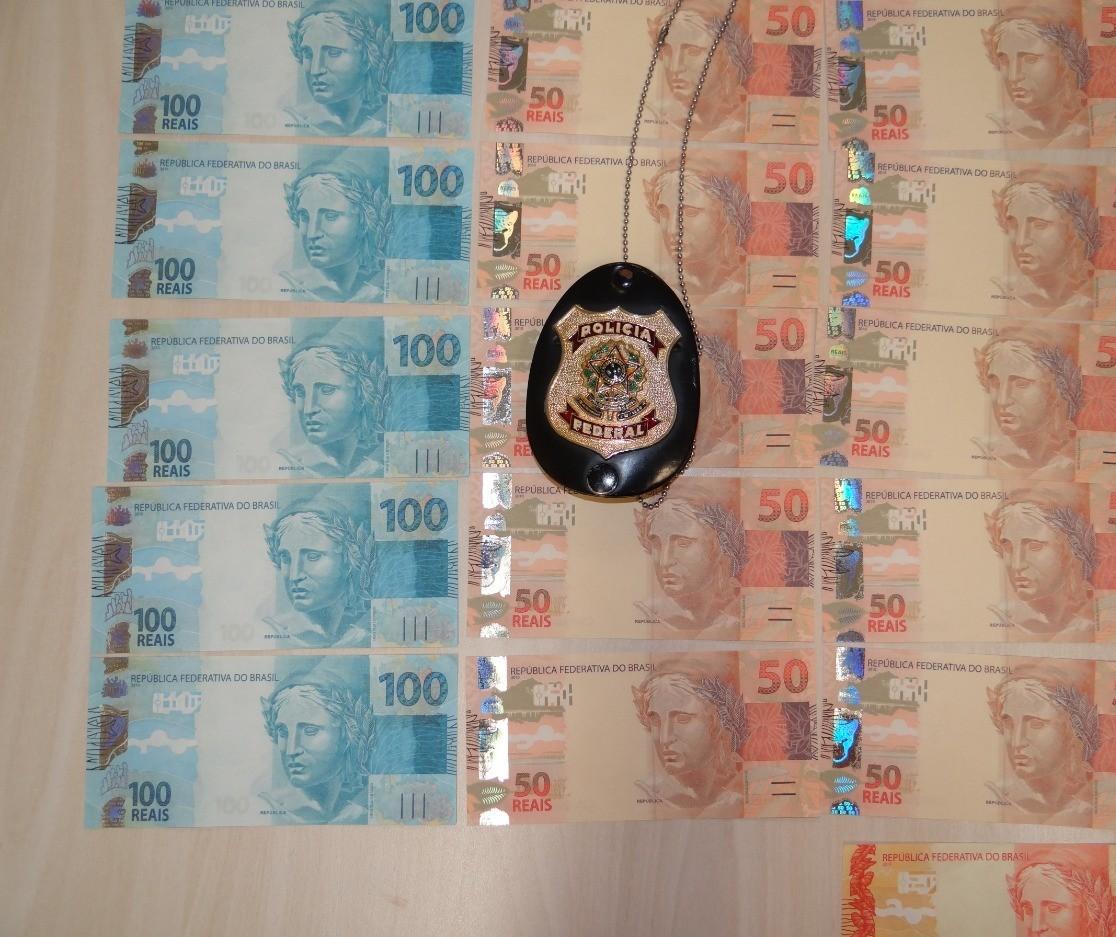 Jovem é preso em flagrante com mais de R$ 1 mil em notas falsas
