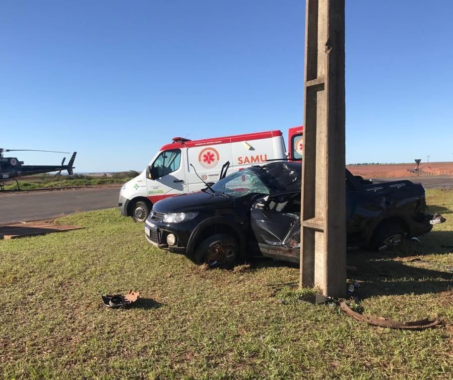 Pai de criança ejetada de carro em acidente dirigia bêbado, segundo a PM