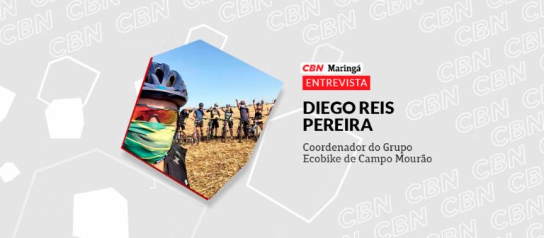 Grupo de ciclistas de Campo Mourão promove ações sociais e ambientais