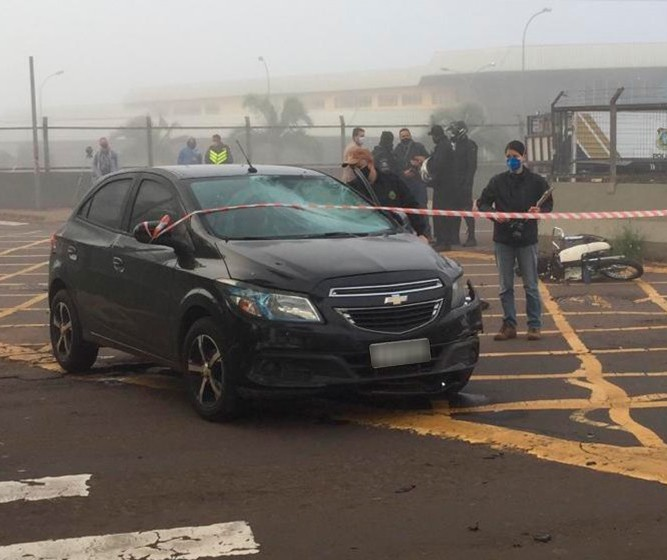 Motociclista morre em acidente na Avenida Tuiuti em Maringá