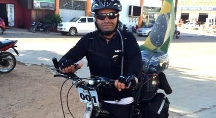Ciclista que já percorreu 400 mil quilômetros de bicicleta está em Maringá