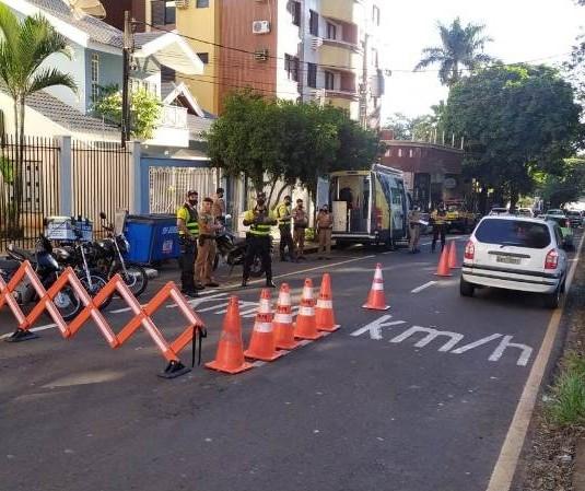 Motos com escapamento irregular são apreendidas em Maringá