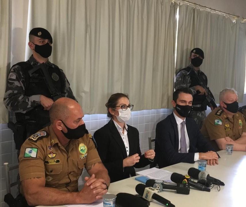Comandante da 4ª Cia de PRE de Maringá está entre os presos da Operação Força e Honra