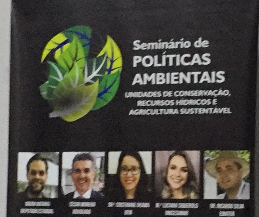 Seminário discute políticas públicas para reverter danos à natureza