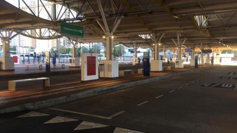 Motoristas da TCCC e da Cidade Verde paralisam as atividades