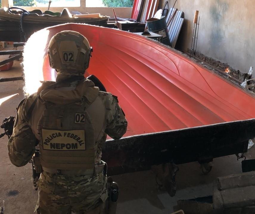 PF cumpre em Guaíra mandados contra suspeitos de matar militar do Exército