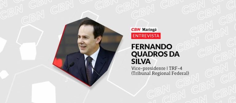 CBN Paraná conversa com o desembargador Fernando Quadros da Silva