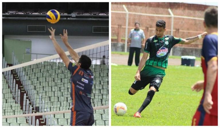 2017 foi bem diferente para times de vôlei e futebol de Maringá