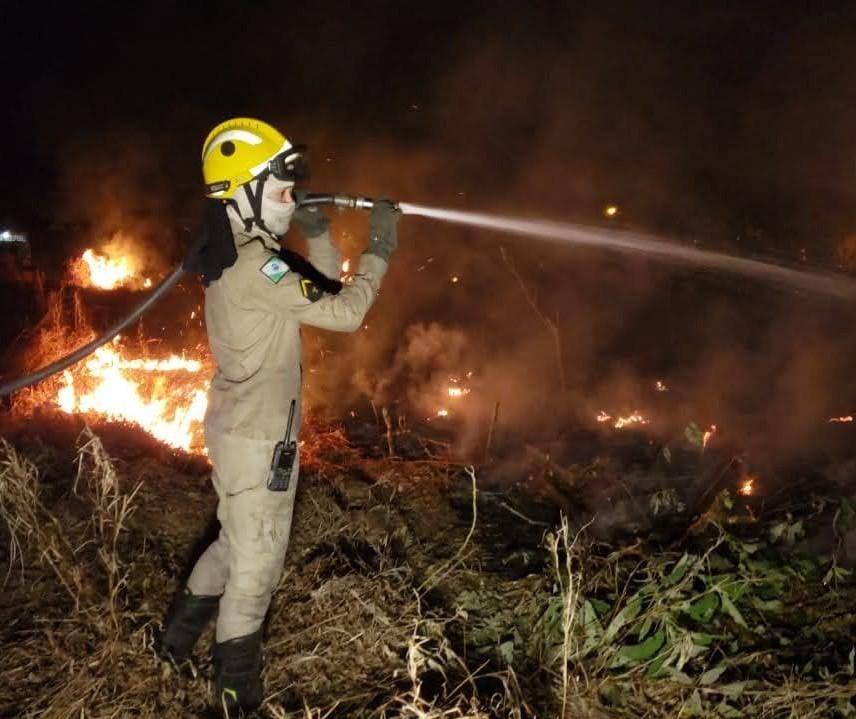 Incêndios ambientais consumiram mais de 4 mi de m² de vegetação na região do 5º GB
