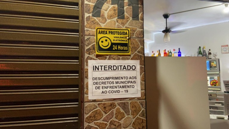 Bar é interditado no primeiro dia de fiscalização com integração de forças