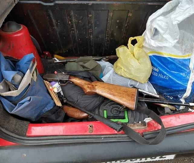 36 são presos por caça de animais silvestres