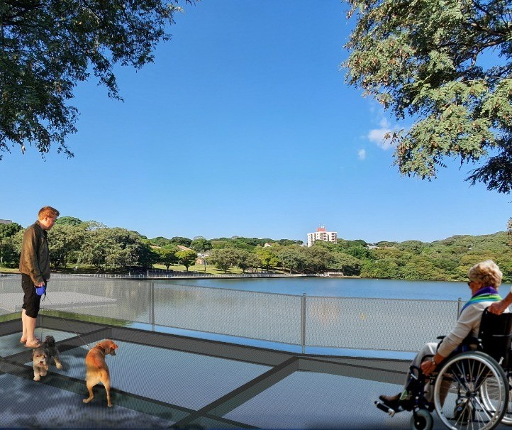 Após reforma, Parque Alfredo Nyffeler ganhará pista de caminhada emborrachada e mirante