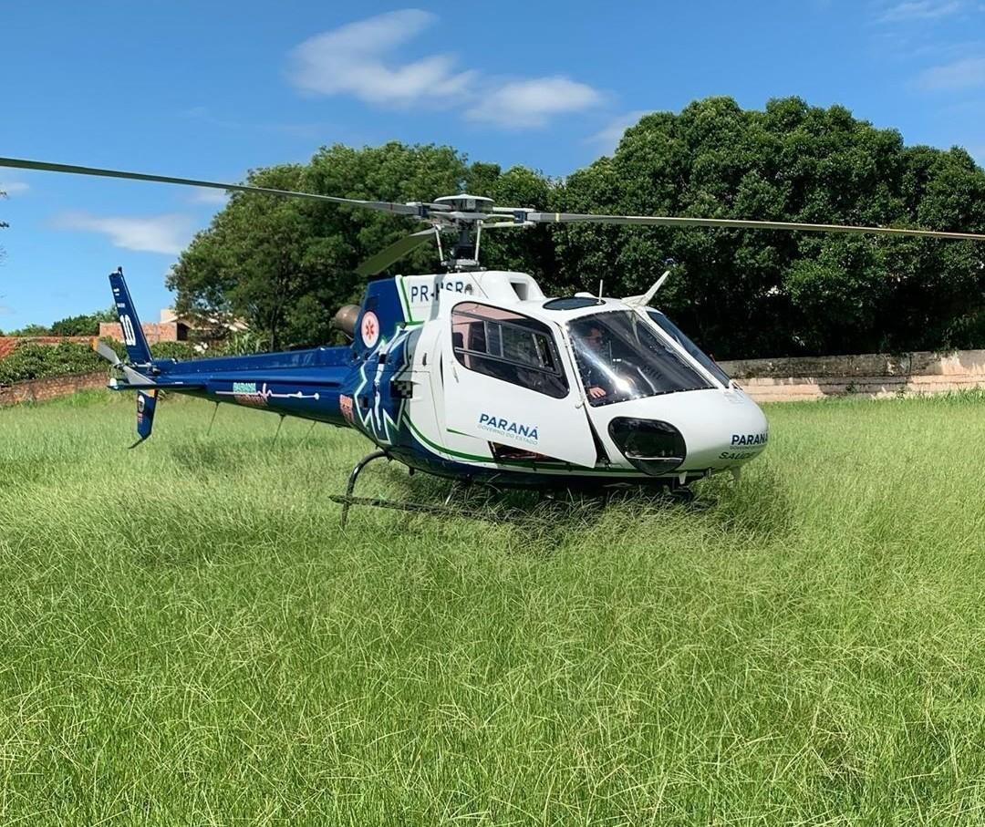 Criança de 2 anos se afoga em Lobato e é socorrida de helicóptero