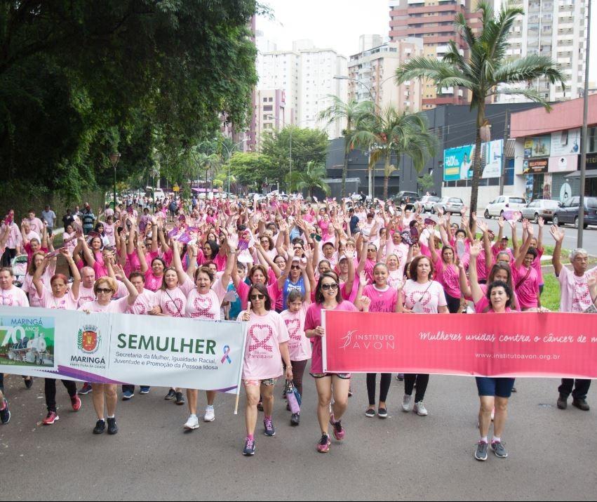 No domingo (21) tem caminhada contra o câncer de mama