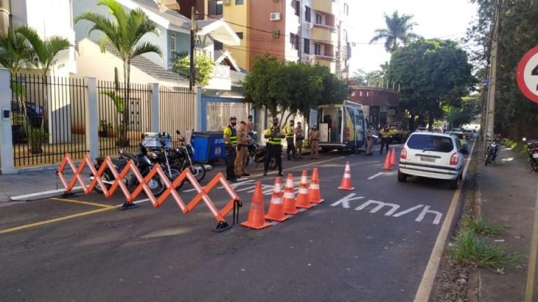 Fiscalização para flagrar motocicletas com escapamento irregular continua esta semana em Maringá