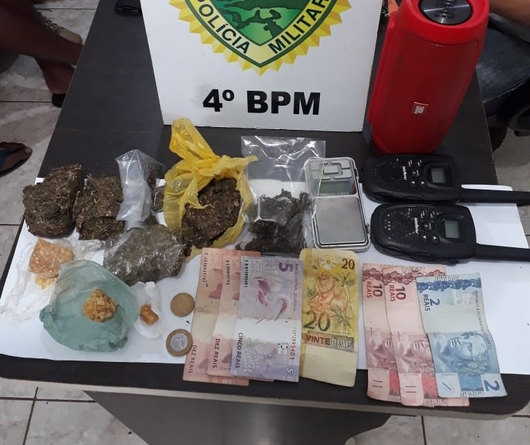 Dois adultos e cinco menores de idade são detidos por tráfico em Maringá