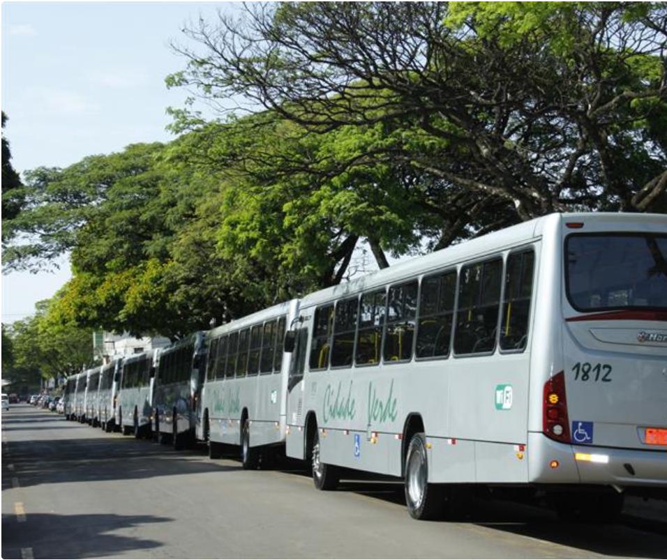 Nenhum ônibus vindo de outra cidade entra em Maringá