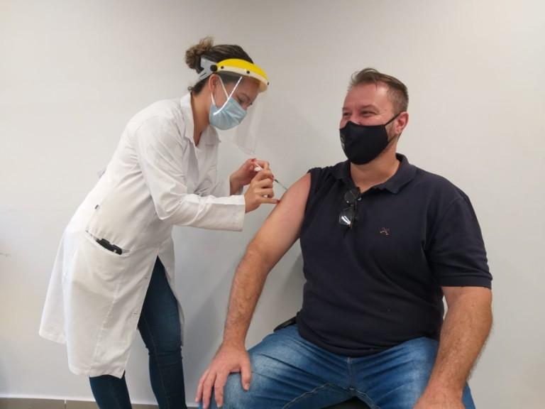 Maringá inicia vacinação de policiais nesta terça-feira (6)