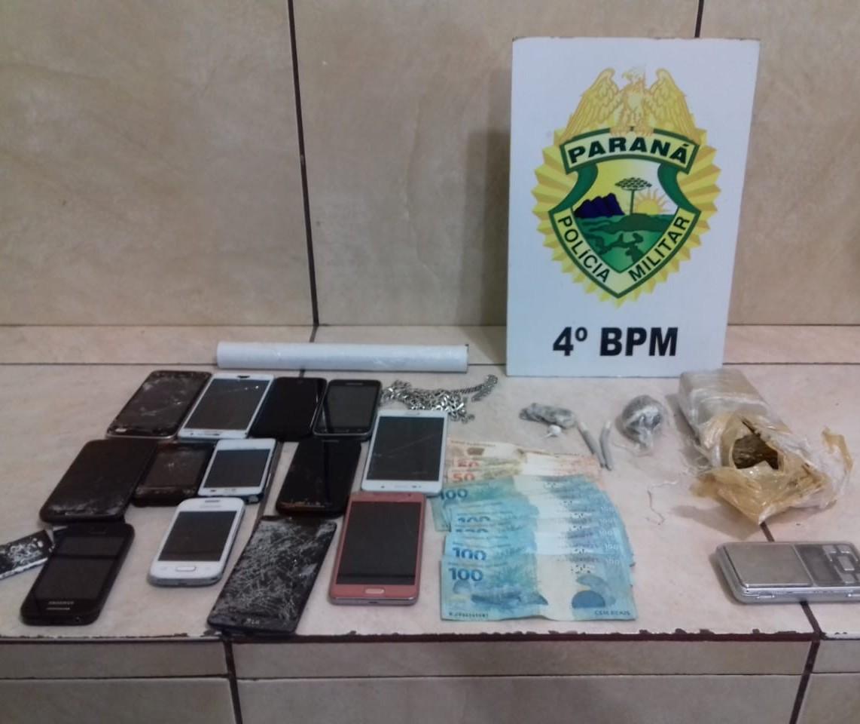 Três pessoas são presas por tráfico de drogas em Floresta