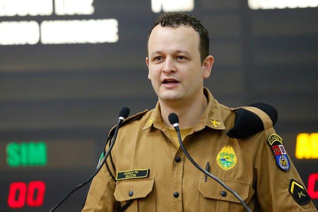 Paulo Biazon (PSL) abandonou a carreira militar para entrar na política
