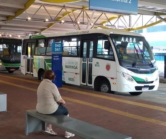 Paralisação do transporte público em Maringá continua, diz sindicato