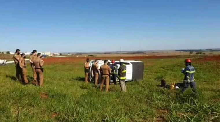 Tiro matou motorista que capotou carro ao fugir da PM em Maringá, diz IML