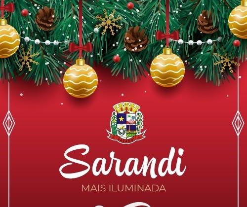 Sarandi lança concurso de decoração natalina com prêmios em dinheiro