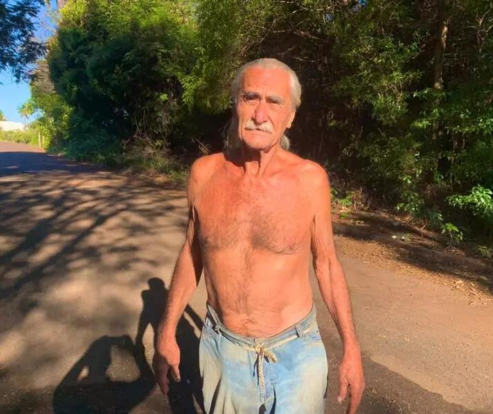 Paranaense ignora semana mais fria do ano e diz não usar camisa há décadas