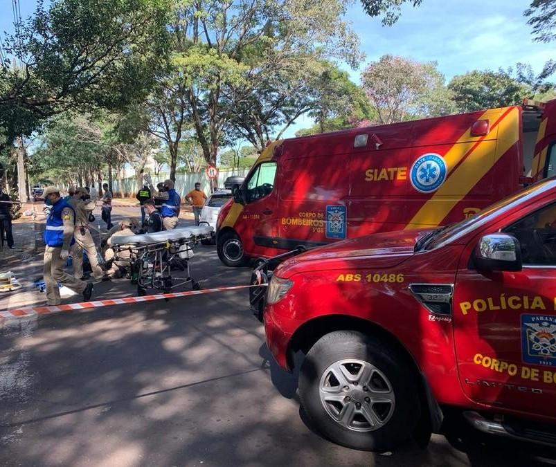 Motociclista de 36 anos morre após colidir contra carro em Maringá