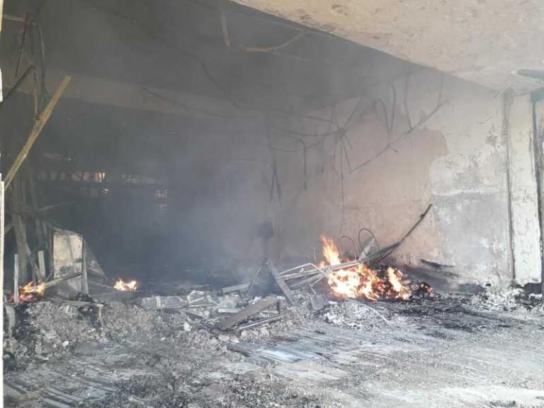 Copel nega que incêndio em shopping tenha sido provocado por explosões