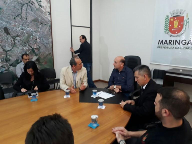 Associação dos Delegados de Polícia pede ajuda a vice-prefeito de Maringá