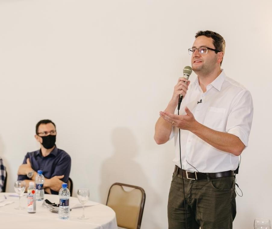 Homero Marchese é o candidato a prefeito pelo Pros