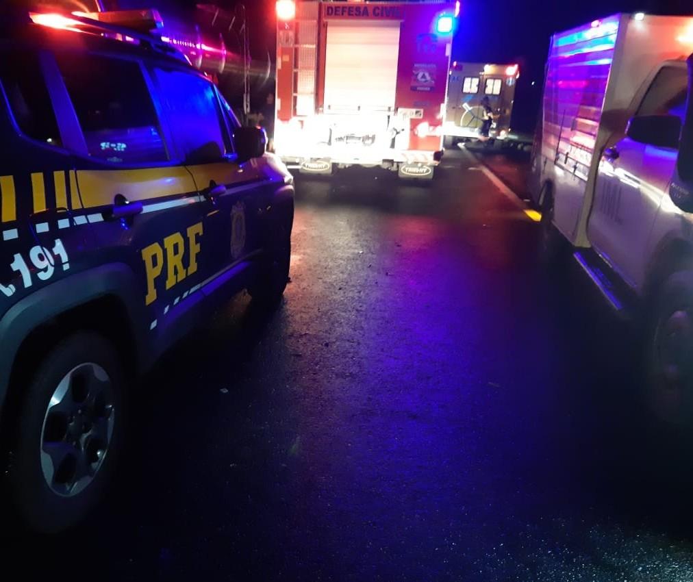 Motorista morre ao tentar acessar rodovia em Nova Esperança