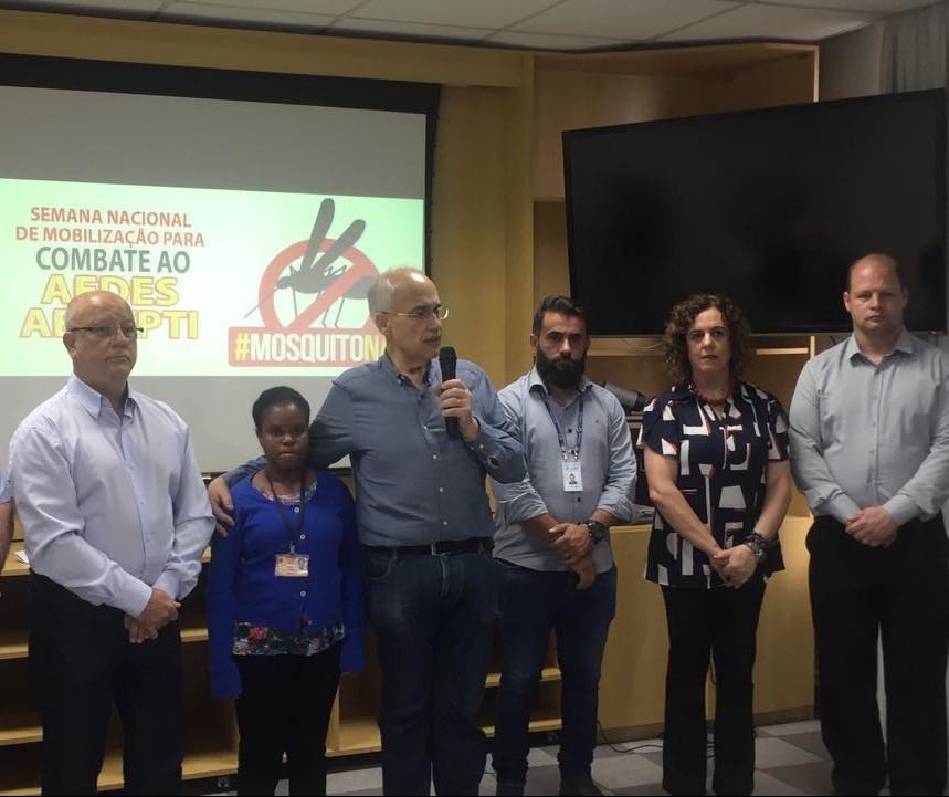 Lançada em Maringá a campanha estadual de combate ao mosquito