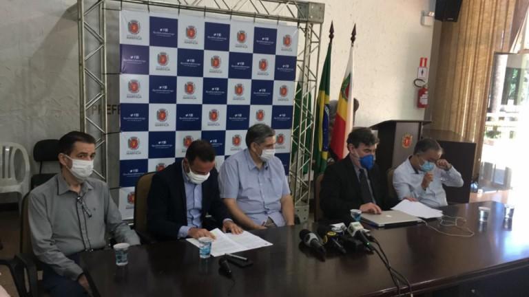 Prefeitura notifica TCCC para garantir 30% dos serviços
