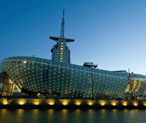 Você já ouviu falar da 'Climate House Bremerhaven 8° East'?