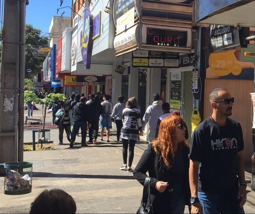 Comércio de rua vai abrir nesse sábado (9), em Maringá