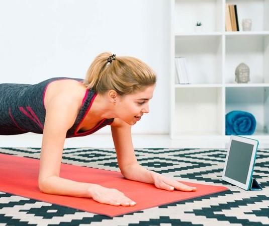 Exercícios orientados pela internet? Só com especialistas