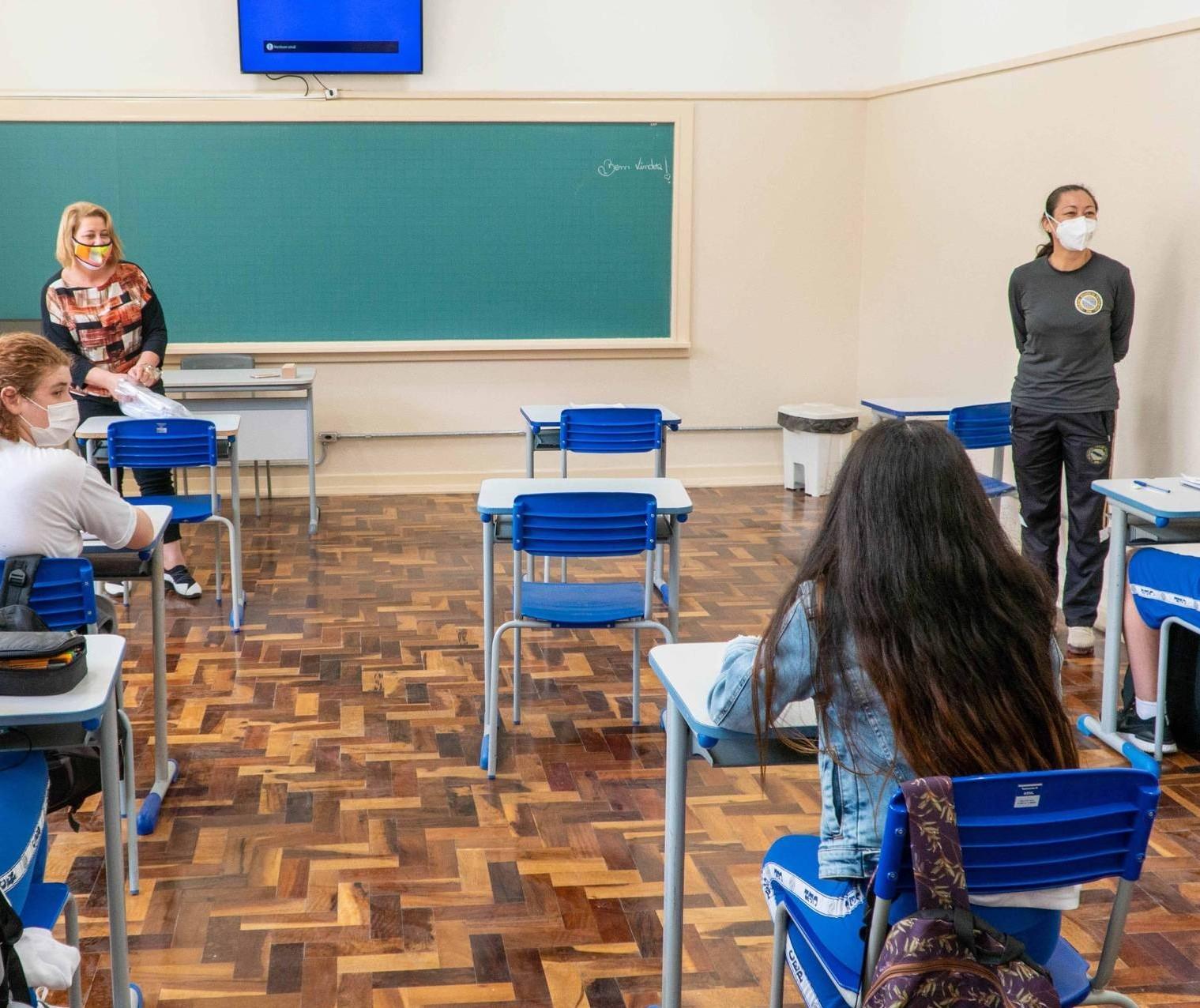 Rede estadual deverá retornar integralmente ao ensino presencial