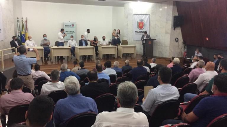 Fábrica de vacinas em Maringá é interesse do Governo do Estado
