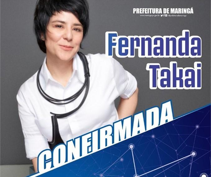 Fernanda Takai é confirmada na Flim