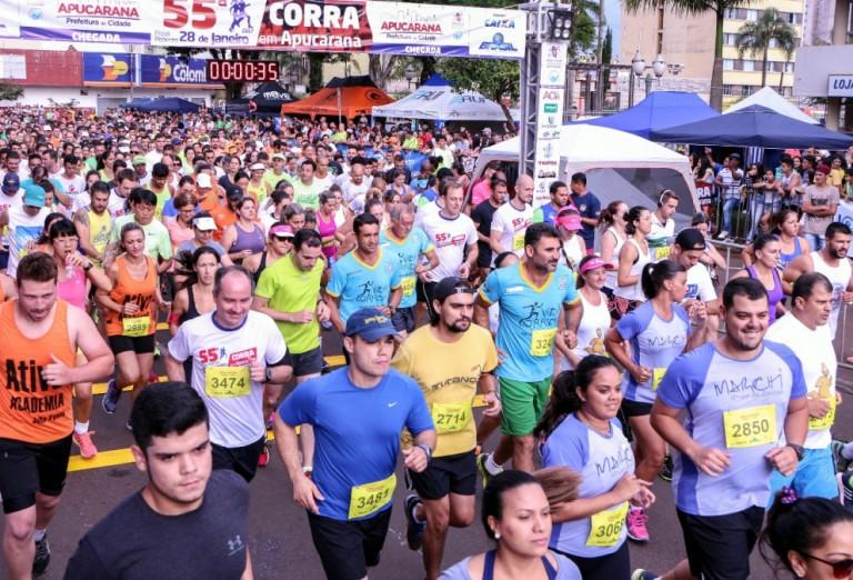 Tradicional corrida de Apucarana já tem mais de 2,9 mil inscritos