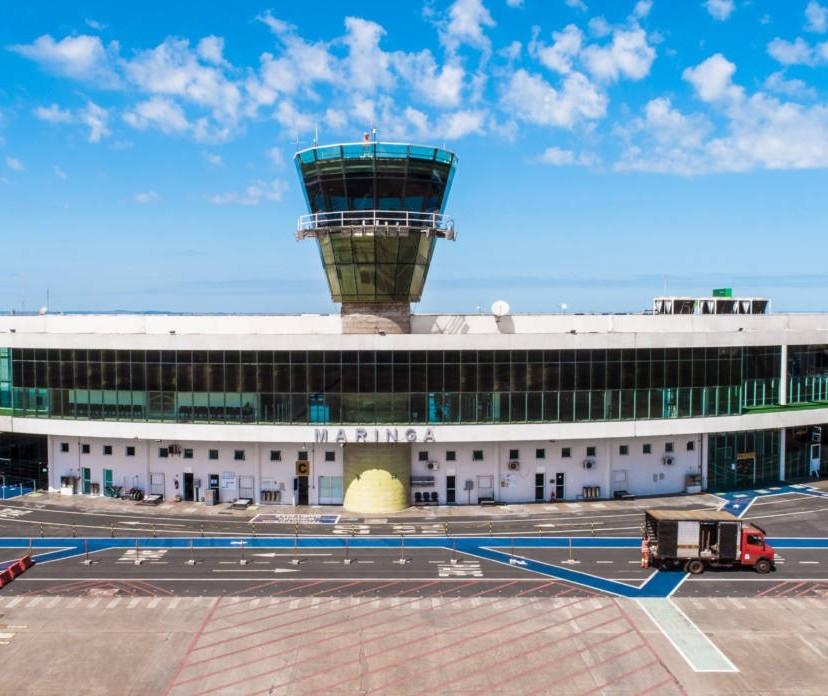 Volume de passageiros no aeroporto de Maringá deve voltar ao patamar pré-pandemia em dezembro