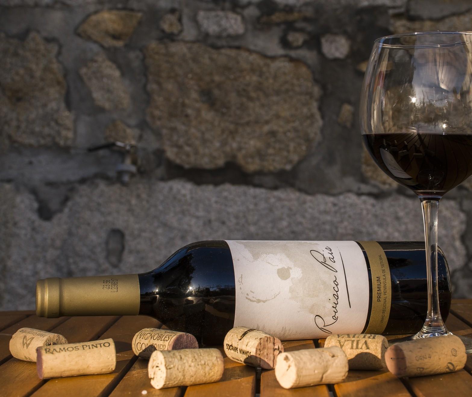 A importância da rolha do vinho