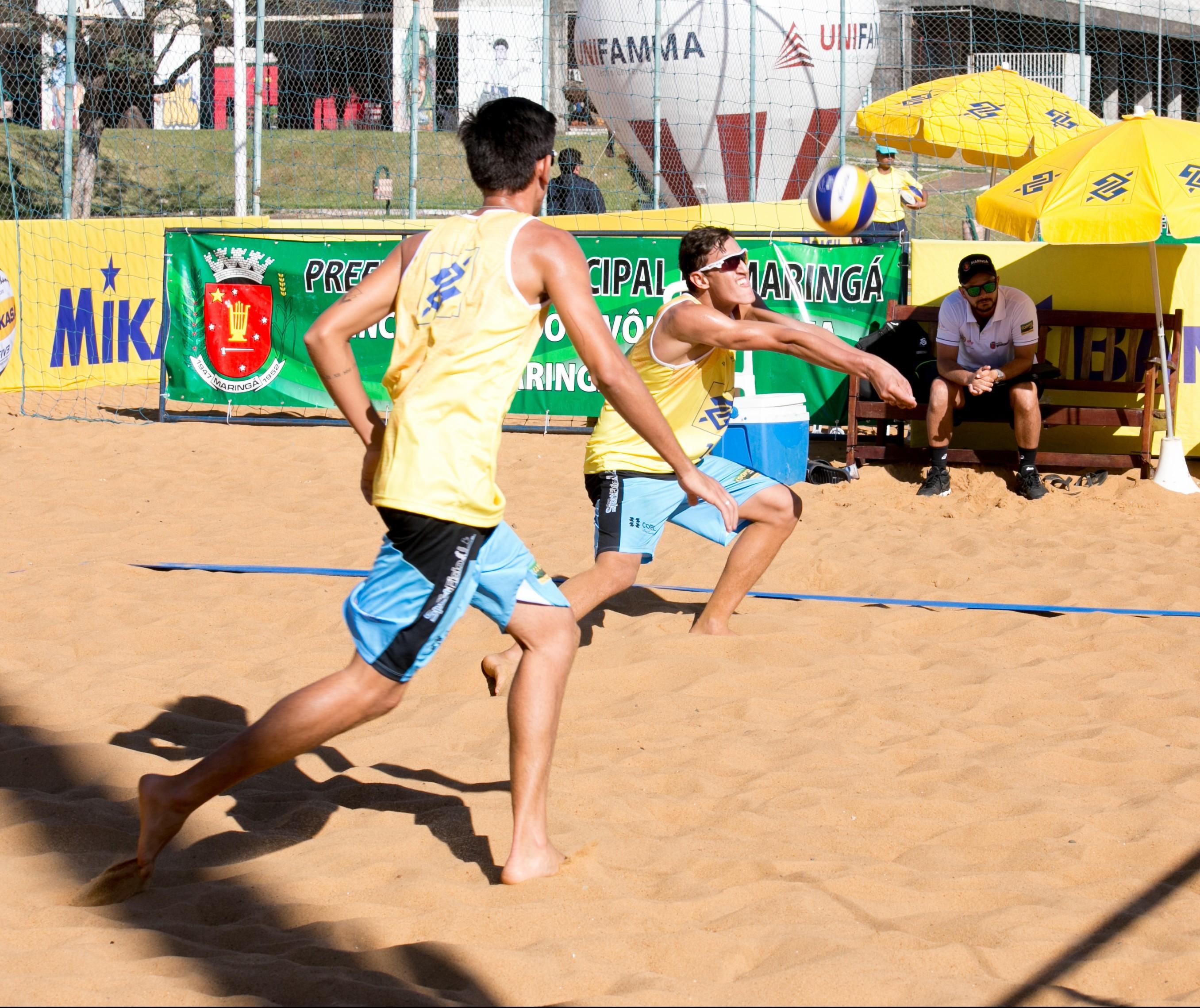 Dupla maringaense conquista bronze no Circuito Brasileiro Sub-21